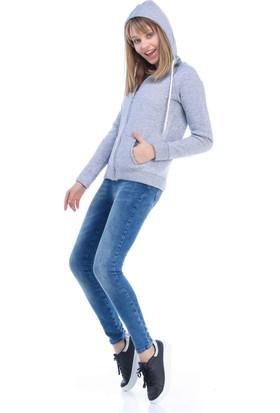 Collezione Kadın Sweatshirt Yoga Gri Melanj