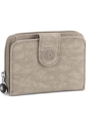 Kipling New Money Basic Cüzdan Warm Grey K13891-828