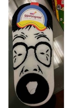 Ggorangnde Eğlenceli Surat Figürlü Çorap