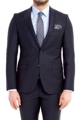 Kiğılı Süper Slim Fit Düz Takım Elbise
