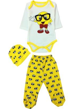 By Leyal For Kids Bebek Emoji 3'Lü Takım 2597