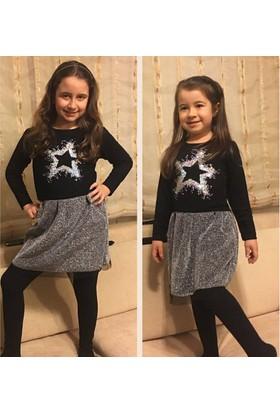 Yıldız Kız Çocuk Elbise