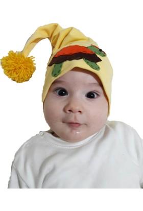Babygiz Kaplumbağa Aksesuarlı Ponponlu Şapka