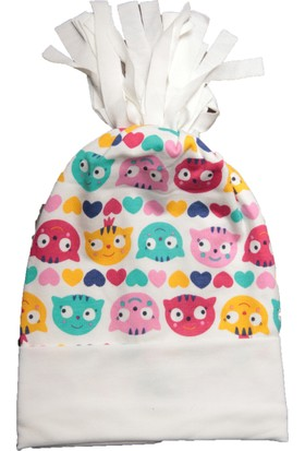 Babygiz Kedi Desenli Şapka