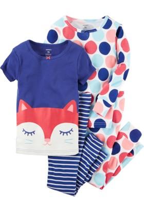 Carter's Kız Bebek 4'lü Pijama 331G228