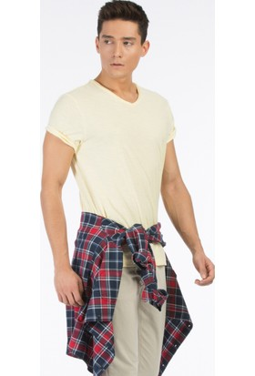 Colin's Sari Erkek Kısa Kollu T-Shirt