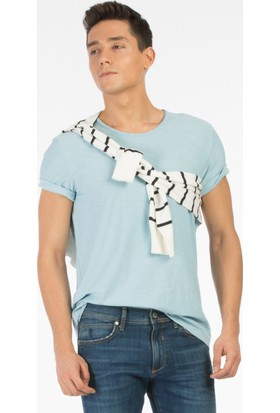 Colin's Mavi Erkek Kısa Kollu T-Shirt