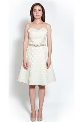 Kep&Balo Kadın Kemerli Abiye Elbise