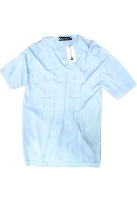 SoftStyle Erkek V Yaka Tshirt 1201