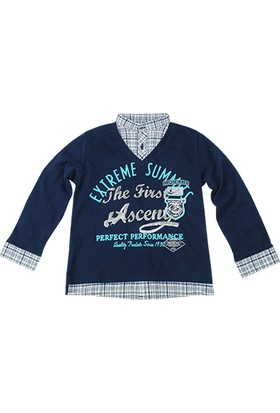 Zeyland Erkek Çocuk T-Shirt V Yaka