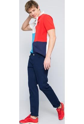 U.S. Polo Assn. Erkek Carlos7Y-Ing Pantolon Lacivert
