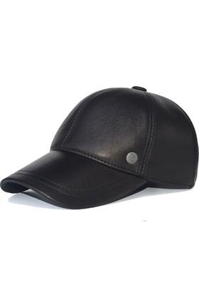 Pozze Erkek Deri Şapka