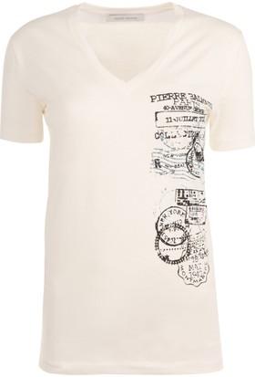 Pierre Balmain Kadın T-Shirt Fp66206Ta6285