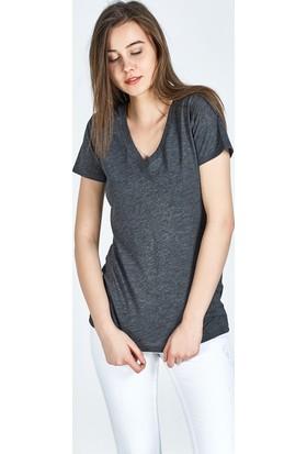 LTB Kadın Örme T-Shirt Pinta T/S