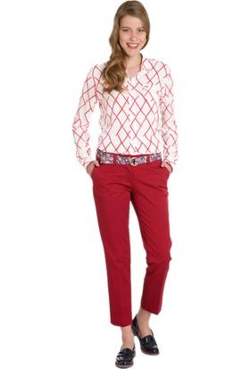 U.S. Polo Assn. Kadın Monica6S-Ing Pantolon Kırmızı