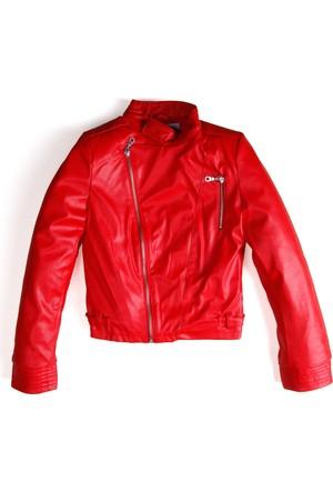 Soobe Mademoiselle Girl Ceket Kırmızı (8-12 Yaş)