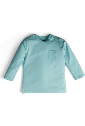 Soobe Pop Boys Uzun Kol Erkek Çocuk T-Shirt Yeşil (1-7 Yaş)