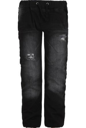 Soobe Rock Boys Beli Lastikli Pantolon Siyah (8-10 Yaş)