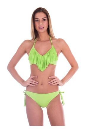 Ayyıldız 20011 Yeşil Püsküllü Bikini