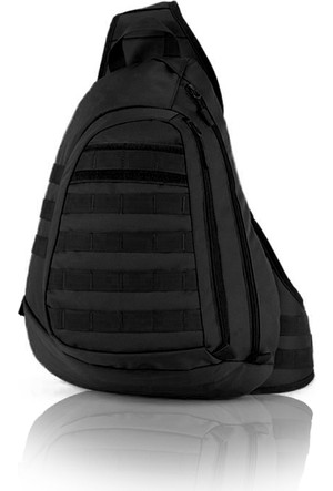 Protector Plus Tek Omuz Taktik Sırt Çanta Siyah