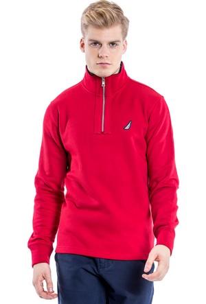 Nautica Kırmızı Erkek Sweat Shirt K63190T.6Nr