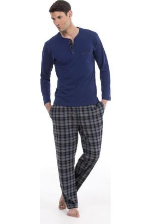 Pierre Cardin 5316 Ekoseli Erkek Pijama