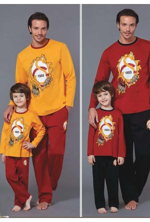 Roly Poly 8574 Erkek Pijama Galatasaray