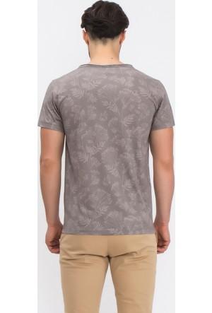 Tiffany&Tomato A5227 Baskılı Casual T-Shirt Kısa Kol