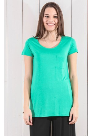 Tiffany&Tomato A4009 Düz N Basic T-Shirt