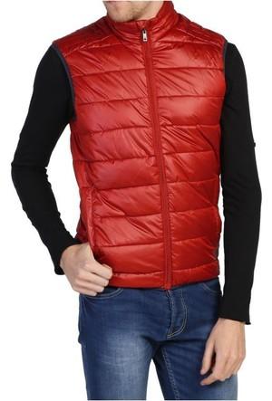 Loft 2012882 Kırmızı Şişme Puf Erkek Yelek