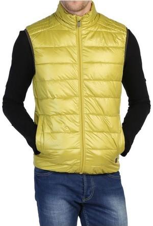 Loft 2012882 Sarı Şişme Puf Erkek Yelek