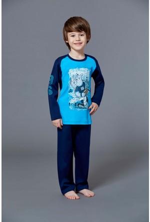 Roly Poly 2913 - İnterlok Erkek Çocuk Pijama