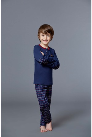 Roly Poly 2925 - İnterlok Erkek Çocuk Pijama