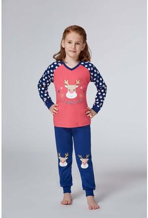 Roly Poly 2953 - İnterlok Kız Çocuk Pijama
