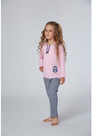 Roly Poly 2955 - İnterlok Kız Çocuk Pijama