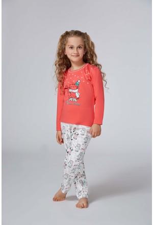 Roly Poly 2956 - İnterlok Kız Çocuk Pijama