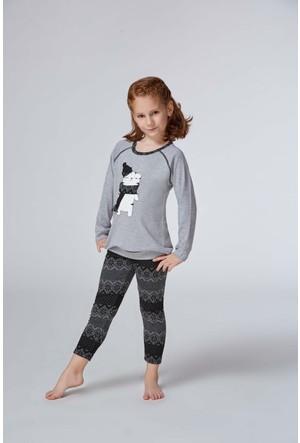 Roly Poly 2972 - İnterlok Kız Çocuk Pijama