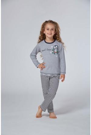 Roly Poly 2973 - İnterlok Kız Çocuk Pijama