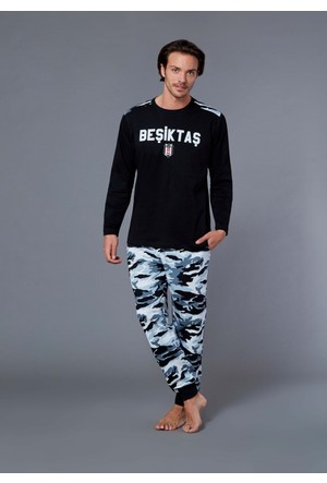 Roly Poly 8554 - Beşiktaş Lisanslı Erkek Pijama