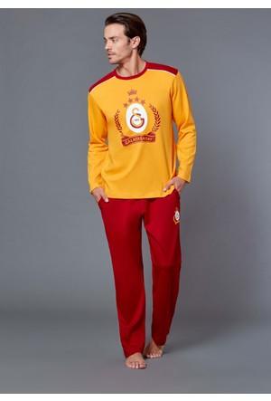 Roly Poly 8572 - Galatasaray Lisanslı Erkek Pijama