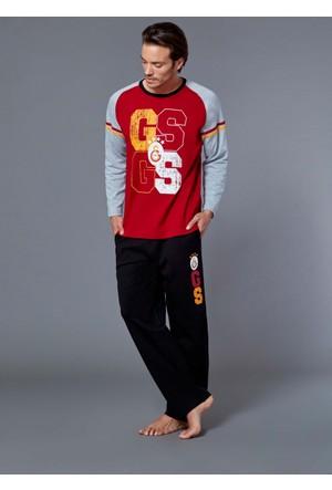 Roly Poly 8573 - Galatasaray Lisanslı Erkek Pijama