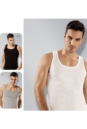 Elif Çamaşır Seher 6'Lı Paket Klasik Erkek Atlet Asorti