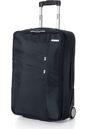 Lexon Airline Siyah Tekerlekli Kabin Boy Valiz Ln1360N