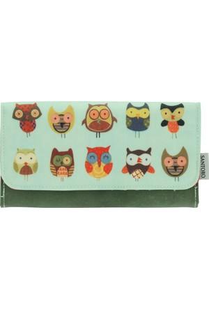 Santoro Animals Giftware Feathered Friends Büyük El Çantası 341Ec03