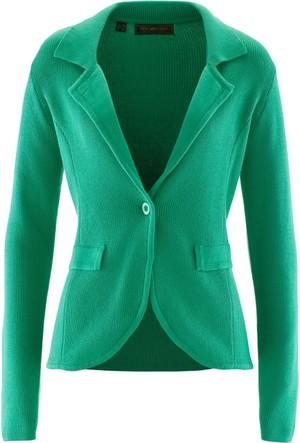 Bpc Selection Kadın Yeşil Triko Blazer Ceket
