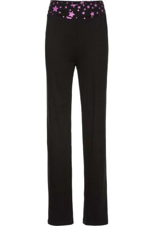 Bpc Bonprix Collection Kadın Siyah Penye Kumaş Pantolon