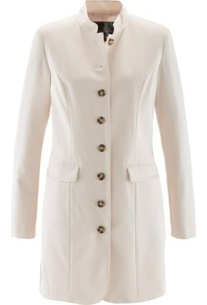 Bpc Selection Kadın Gri Uzun Blazer Ceket