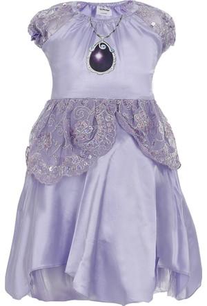 Soobe Kız Çocuk Elbise Lila
