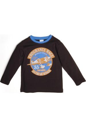 Soobe Erkek Çocuk T-Shirt Kahverengi
