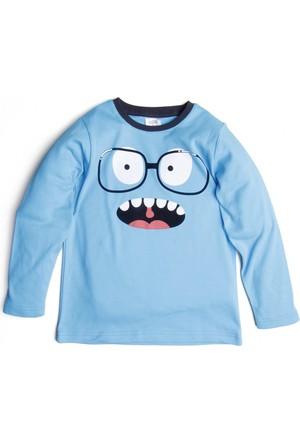 Soobe Erkek Çocuk T-Shirt Turkuaz
